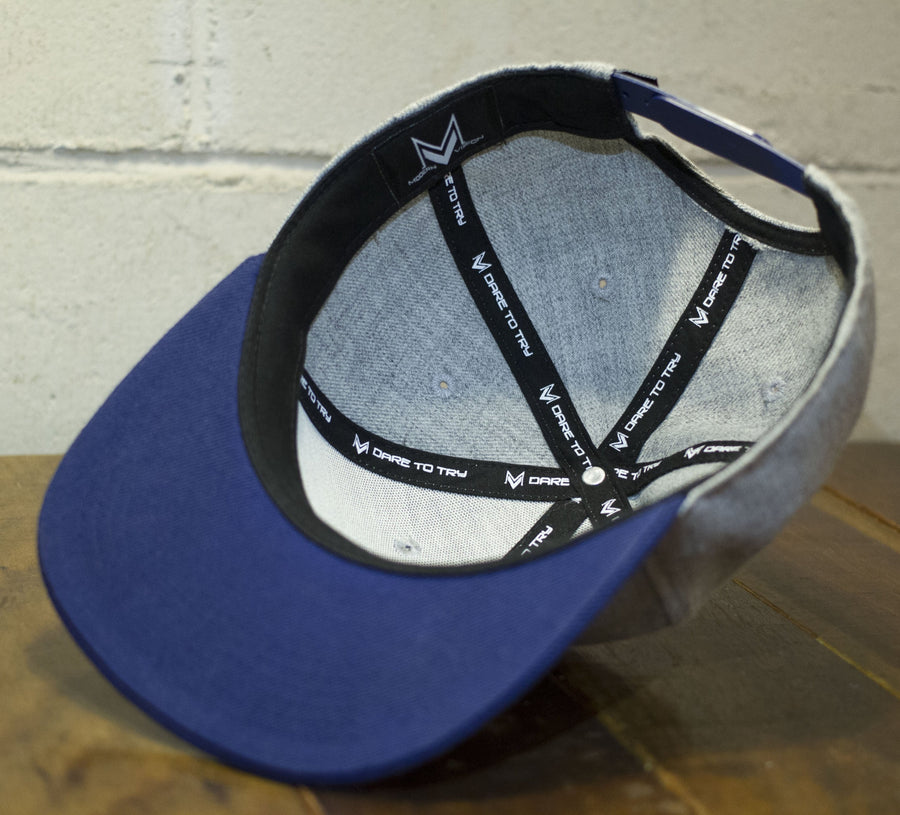 Classic Grey Snapback - Modern Vision