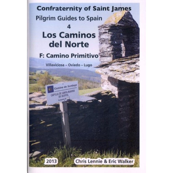 Books - 4F. Los Caminos del Norte: Camino Primitivo - Confraternity of Saint James