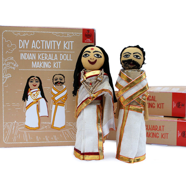 Do It Yourself : Kerela Doll Making Kit