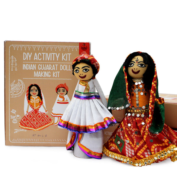 Do It Yourself : Gujarat Doll Making Kit