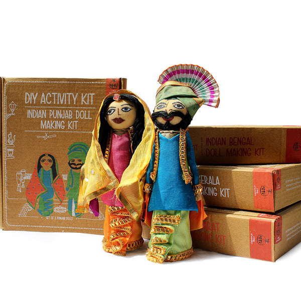 Do It Yourself : Punjab Doll Making Kit