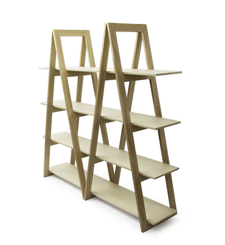 Fine living Pyramid Shelving - Double
