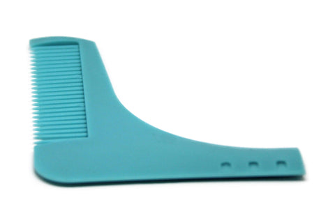 Beard Shaping Tool - Blue