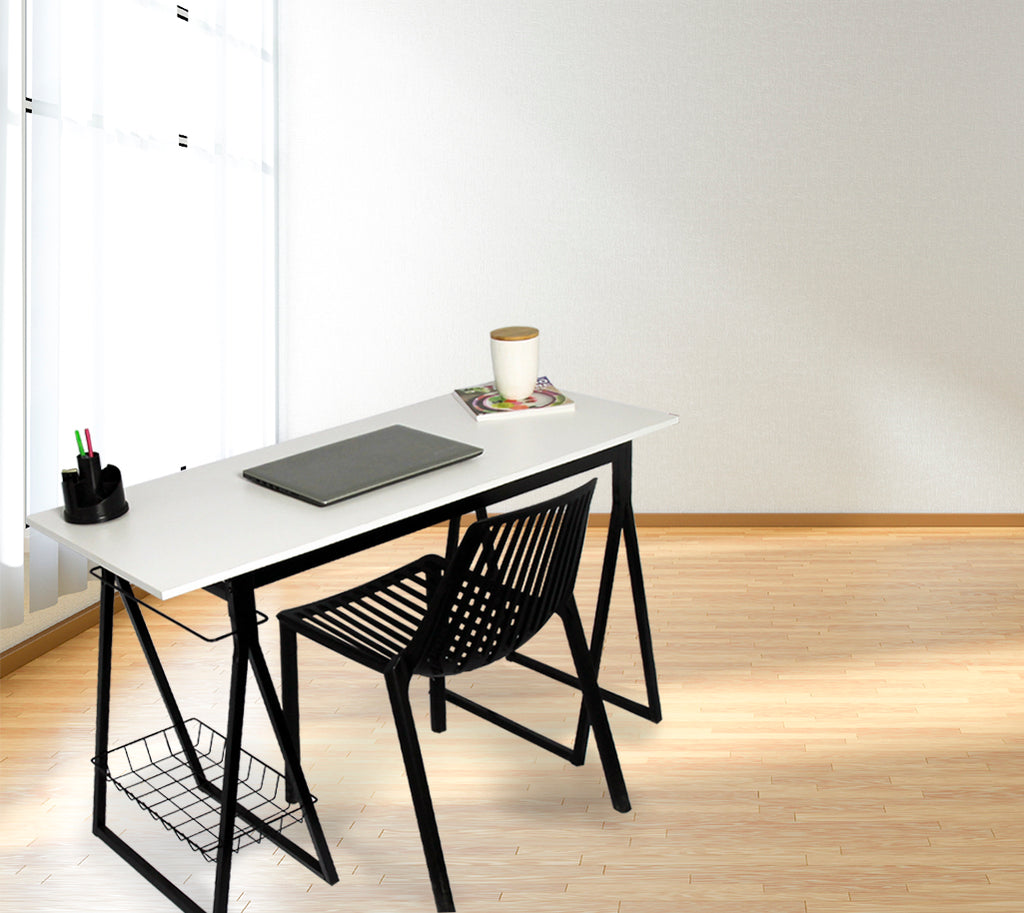 Fine Living - Harrison Desk - Metal Frame