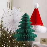 Christmas Decor Festive Honeycomb Decorations