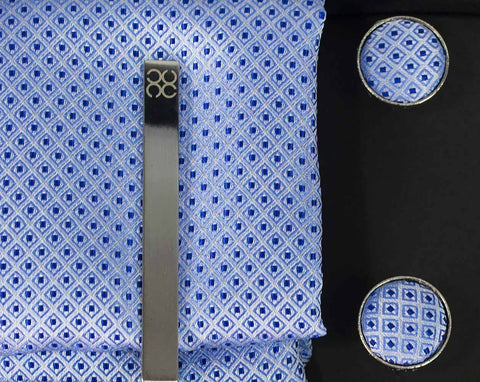 No.10 Blue Tie Gift Set