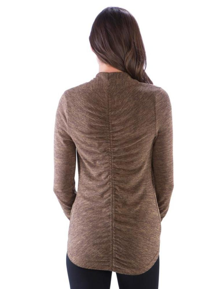 Ruched Back Shrug