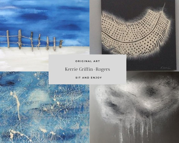 KERRIE GRIFFIN-ROGERS EXHIBITING ELLESMERE COLLAGE SHROPSHIRE 29Th May - 2ND JUNE