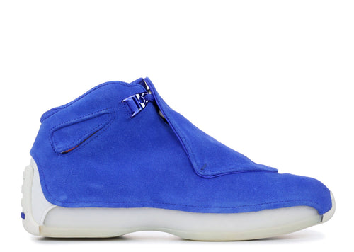 Air Jordan 18 Retro Blue Suede
