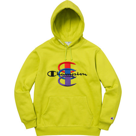 Supreme Champion Stacked C Hoodie