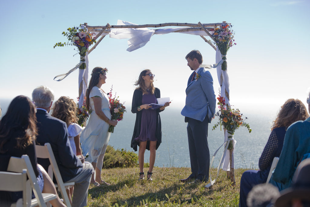 A June Wedding at the Muir Beach Overlook