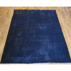 Royal Blue Overdyed Rug
