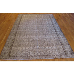 Distressed Brown Rug