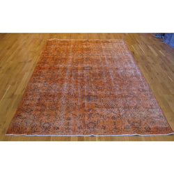 Orange Distressed Rug