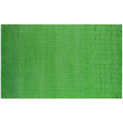 Green Brick Overdyed Rug