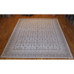 Beige Pomegranate Design Rug