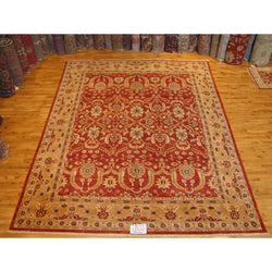 Red and Gold Pakistani Rug