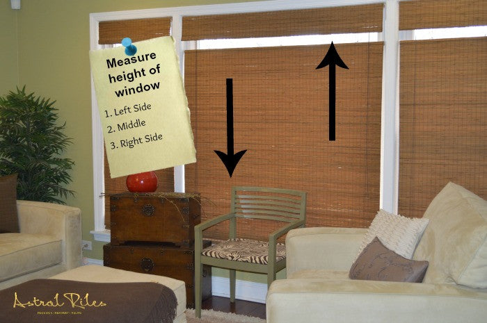 How To Properly Measure Windows  AND Where To Order Custom Blinds For LESS!!!