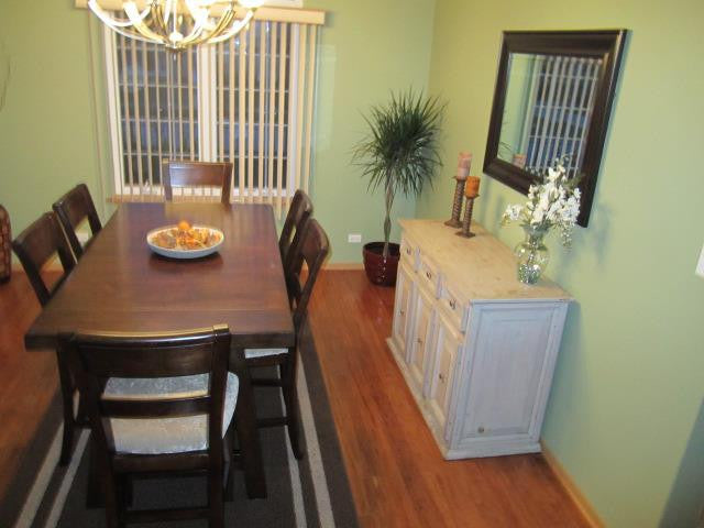 From Shabby to Chic Dining Room Buffet