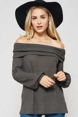 It Is Well Top - long sleeve top- Lucy and Lou Boutique - www.lucyandlou.com