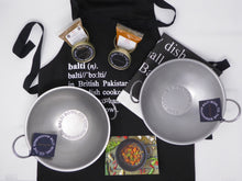 ULTIMATE CURRY LOVER TWO BOWL GIFT SET- Two authentic Bowls, Spices, Apron and Tea Towel