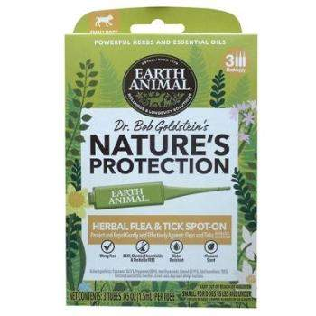 Earth Animal Nature's Protection Flea & Tick Topical for Dogs-Paws & Purrs Barkery & Boutique