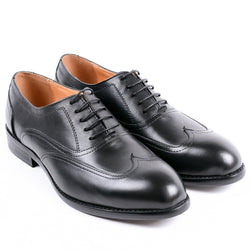 Dej Black Austerity Brogues