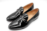 Dej Patent Horsebit Loafers