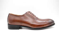Dej Brown Whole cut Medallion Brogues