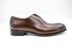 Dej Coffee Whole cut Medallion Brogues