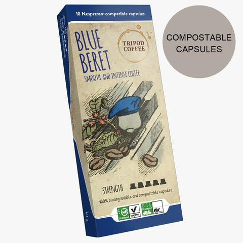 Blue Beret Compostable Capsules