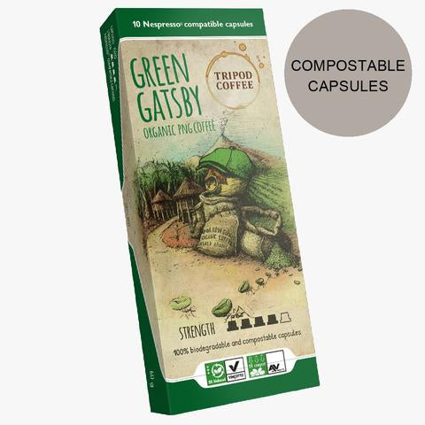 Green Gatsby Compostable Capsules