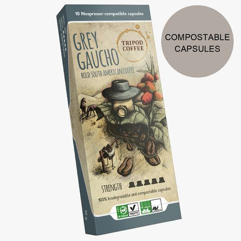 Grey Gaucho Compostable Capsules
