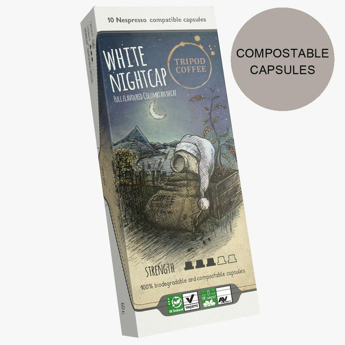 White Nightcap Nespresso® Compatible capsules
