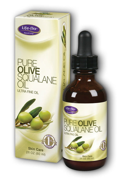 LifeFlo- Pure Olive Squalane, Oil , 2 oz