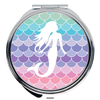 Image of Mermaid Scales Compact Mirrors