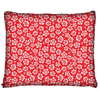 Image of Hawaiian Hibiscus Red Dog Bed