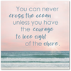 Image of Cross The Ocean Premium Canvas Art Gallery Wrap