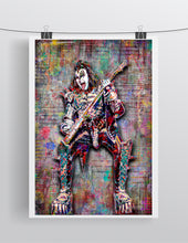 Gene Simmons of KISS Poster, Kiss Tribute Fine Art