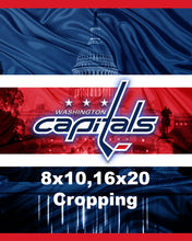 Washington Capitals Hockey Poster, Washington Capitals Gift, Capitals in front of the Capital, Washington Capitals Poster