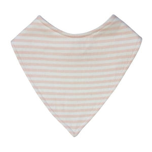 Pink Stripe Dribble Bib
