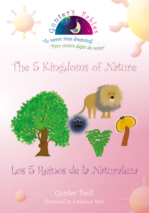 01: The 5 Kingdoms of Nature | English - Spanish | Printed