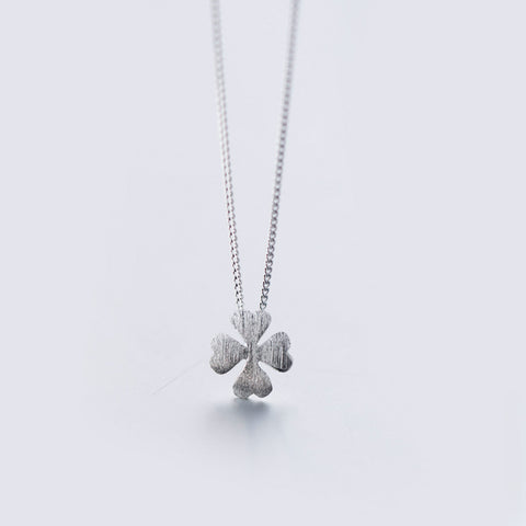 Lucky Leaf Silver 925 Necklace