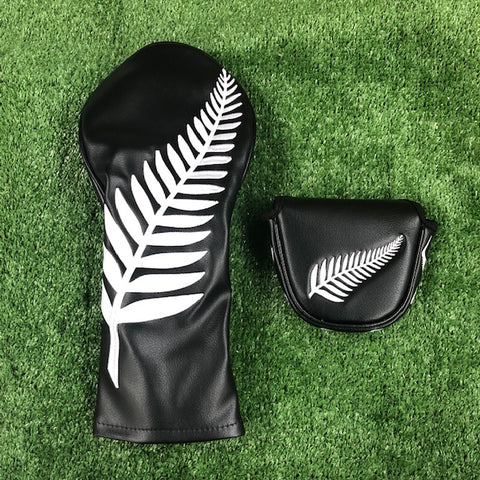 Kiwi Black - Driver & Mallet Cover Twin Pack - The Back Nine Online
