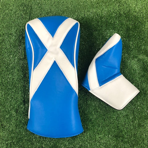 Scottish - Blade & Driver Cover Twin Pack - The Back Nine Online