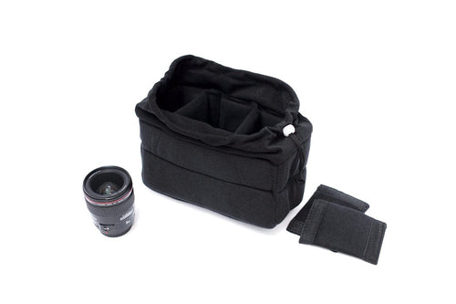 Camera bag insert black