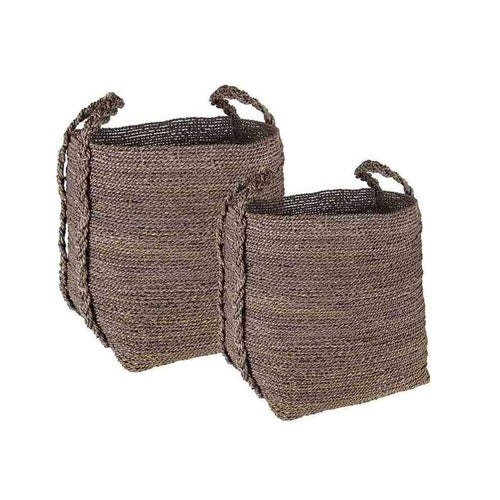Day Seagrass Grey basket, set of 2pcs - Dayhome-Day home-Korg-Stilsäkert.se