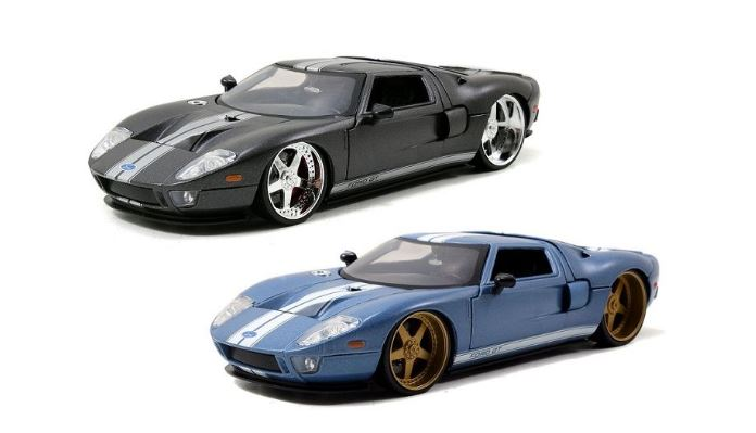 2005 Ford GT, Big Time Kustoms, 1:24 Diecast Vehicle