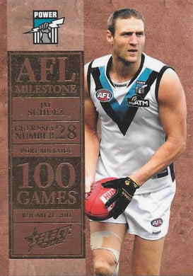 Jay Schulz, 100 Game Milestone, 2012 Select AFL Champions