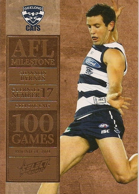 Shannon Byrnes, 100 Game Milestone, 2012 Select AFL Champions